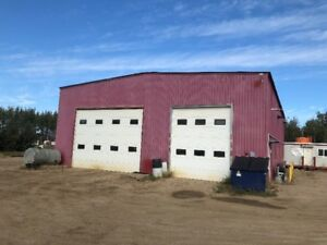 50' x 60' Shop for Rent in High Prairie