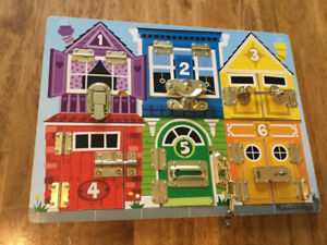 Kids Latches Board