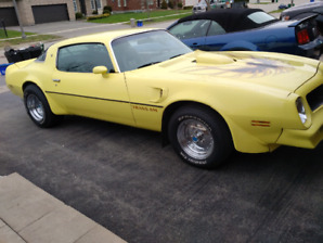 1976 Trans Am 455 4 speed