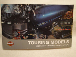 Trade? 2009 French Street glide Owners manual