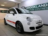 Fiat 500 1.2I S S/S [2X SERVICES, LEATHER and 30 ROAD TAX]