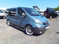 Vauxhall Vivaro two berth campervan for sale