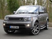 2009 59 Land Rover Range Rover Sport 3.0TD V6 auto HSE..HIGH SPEC..STUNNING !!