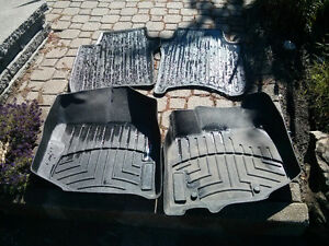 2 tapis Weather tech Honda Fit +2 tapis hiver Honda  Fit