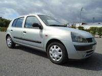Renault Clio 1.2 Authentique 2002 75,000 miles