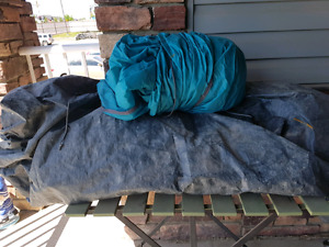 8 person Coleman tent - used