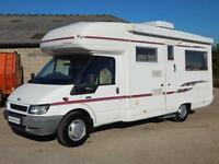 AutoSleeper RIENZA, 2004, 2 Berth, FORD 2.4D, Hab Air-Con. 6 MTH WTY