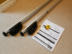 Thule 450R Crossroad roof racks for factory rails (IMMACULATE)