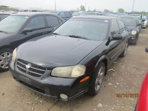JUST IN FOR PARTS! 2001 NISSAN MAXIMA @ PICNSAVE WOODSTOCK!