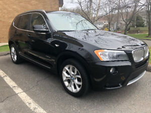 Fully loaded 2013 BMW X3 28i xDrive $21,990  107,800km