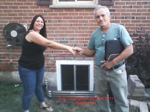 ENLARGE BASEMENT WINDOW CUT & INSTALLATIONS -30 YEARS EXP Oakville / Halton Region Toronto (GTA) image 7
