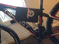 Special edition ghost mountain bike