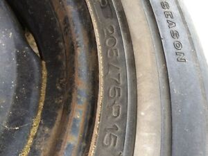 Tires and rims 205/75r15