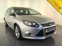 2013 FORD FOCUS ZETEC ECONETIC TDCI ESTATE DIESEL 1 OWNER SERVICE HISTORY