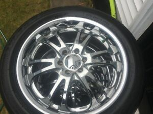 BOSS 20 inch wheels for sale $550 - 5 Bolt Chev
