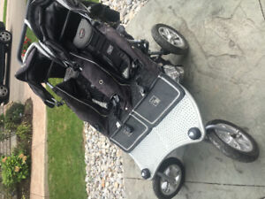 Valco runabout twin stroller, very good shape