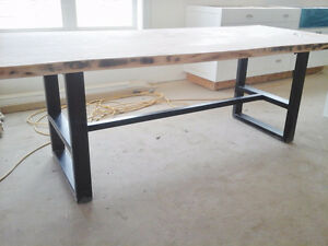 URBAN / INDUSTRIAL STEEL TABLE BASE