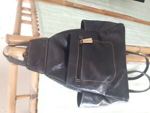 Leather Back pack purse