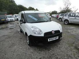 2013 Fiat Doblo Cargo 1.3 Multijet 90 Van. Only 51,000 miles. 1 owner from new.
