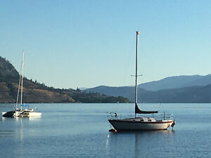 25ft Lancer sail boat