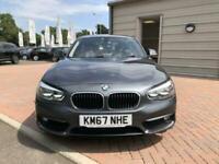 2017 BMW 1 Series 118i [1.5] SE 5dr [Nav/Servotronic] Step Auto HATCHBACK Petrol