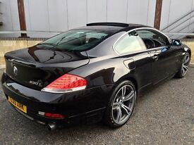 Bmw 630i e63 119,000 mileage M6 alloys 2015 further reduced £6,000