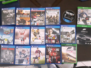 Many Ps4 and xbox one games