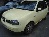 2001 Y SEAT AROSA 1.4 S TDI 3D 74 BHP DIESEL