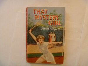 THAT MYSTERY GIRL by Nora Mylrea - 1955 Btitish Hardcover