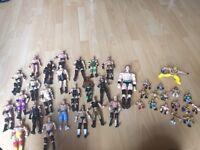 WWE wrestling figures 40+ hulk John cena undertaker