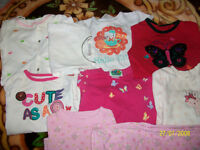 baby girl clothing 6-18 months 30 pieces excellent shape clean