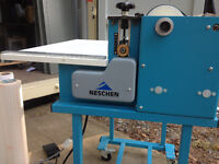 REDUCED - Cold laminating/mounting machine (Neschen)