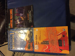 Music books for guitar