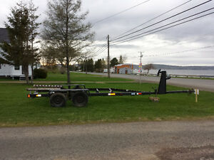 real good baot trailer 16ft by 28ft galvanize.
