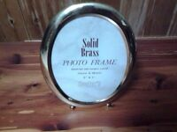 5 X 7 brass picture frame
