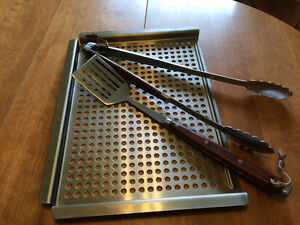 BBQ Grilling Tray and Tools