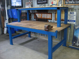 Two tier work bench