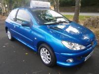 07 Peugeot 206 1.4 2005MY Look in Blue