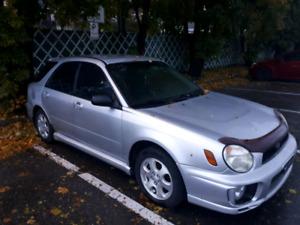 Subaru Impreza TS Wagon 2003 Manuel