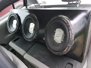Looking to trade audio system for street bike or what have u