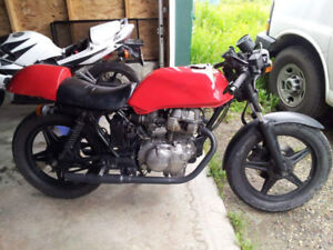 1980 Honda CB400 Hawk Custom Cafe Racer