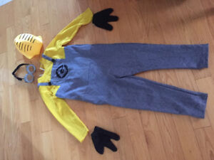 Boys Minion Costume - Despicable Me 2, Size 8 -9 years old