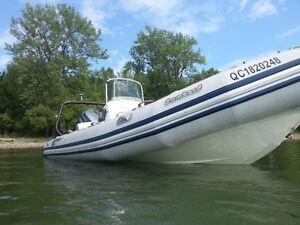 2008 Bombard (Zodiac) Explorer SB550 18 pied - Yamaha 75HP