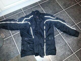 Motor bike jacket great condition size xxxl but more like xxl