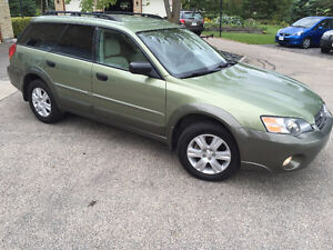2005 Subaru Outback Symmetrical All Wheel Drive Finance OAC