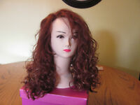 Brand New 100% Human Hair Auburn/Golden Wig $165.00