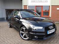 2014 (63) Audi A1 2.0TDI ( 143ps ) Black Edition - Black