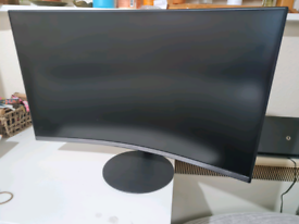 """Samsung 27"""" Full HD LED Curved Monitor - Space Grey"""