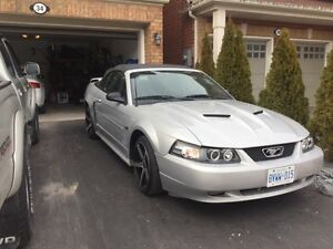 2002 Ford mustang Gt convertible V8 Manual with tons of mods