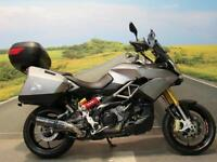 Aprilia Caponord 1200 with Travel pack